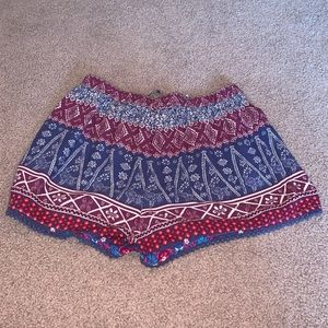 Hollister Shorts - Hollister Multicolored Soft Shorts